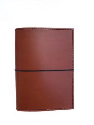 A5 traveler´s notebook, traveler´s notebook, TN, læderomslag til notesbog, bogomslag, notesbog, kalender, kalendersystem, fleksibelt kalendersystem
