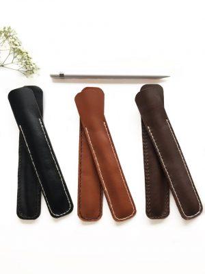 Apple pencil sleeve, etui til apple pen, apple pen, læder etui til apple pen, apple pencil cover,