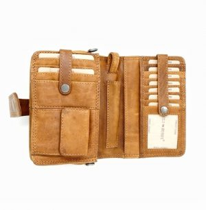 læderclutch, stor pung, clutch taske, lædertaske, lille lædertaske, hill burry.