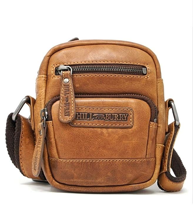 Kompakt crossbody taske med justerbar skulderrem