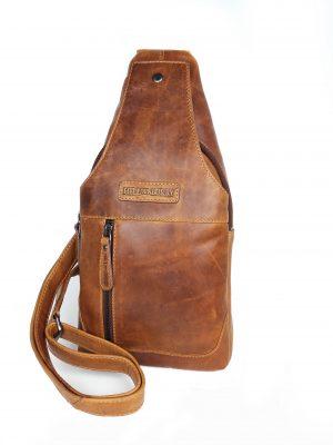 crossbody og skuldertaske i én, crossbody taske, skuldertaske, rejsetaske, lædertaske, taske på skrå, hill burry