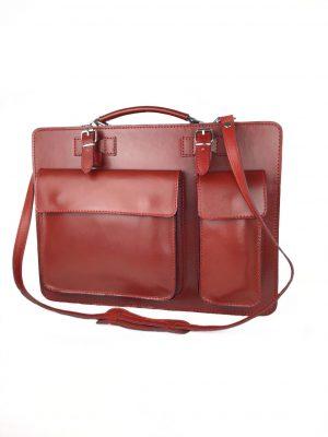 Italiensk lædertaske, lædertaske, made in italy, messengertaske, unisextaske, lædertaske fra italien, italiensk taske