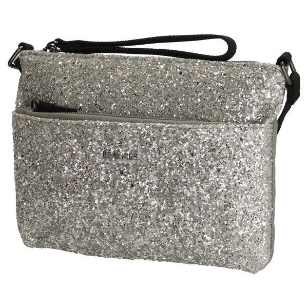 glimmer clutch, clutch, sølv clutch, paliet clutch, skuldertaske, dametaske, selskabtaske, pigetaske, ungdomsstaske