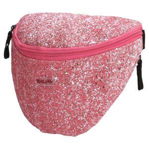 glimmer bumbag, bumbag, bæltetaske, glimmer bæltetaske, pige taske, crossbody taske, paliettaske,