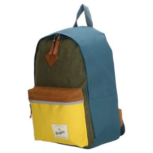 rygsæk, canvas rygsæk, børnerygsæk, skoletaske, rygsæk med farve