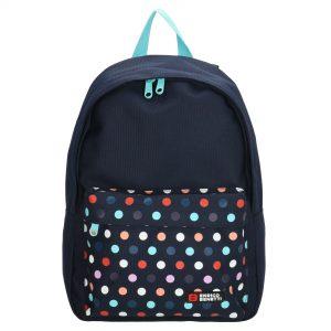 børnerygsæk, rygsæk til børn, børnehaverygsæk, børnehave rygsæk, lille rygsæk, rygsæk i stof, stofrygsæk, canvas rygsæk, canvasrygsækprikket rygsæk