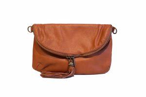 italiensk lædertaske, crossbody taske, crossover taske, lædertaske, læder taske, italiensk læder, stor clutch taske, stor håndtaske, taske i blødt læder