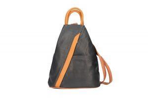 rygsæk, læder rygsæk, taske i italiensk læder, rygsæk i læder, dametaske