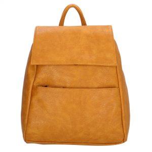 lille rygsæk, rygsæk imiteret skind, hverdagstaske, taske til rejse, håndbagage, kompakt rygsæk