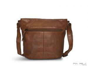 Skuldertaske i vasket læder, lædertaske, skuldertaske, skuldertaske i læder, Pia Ries skuldertaske, Pia Ries taske