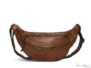 Rummelig bumbag, bæltetaske, bumbag, bumbag i læder, bumbag i skind, blød bumbag, bæltetaske i læder, bæltetaske i skind, blød bæltetaske