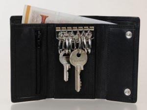 Pung til nøgler, nøglepung, nøglepung i læder, læder nøglepung,