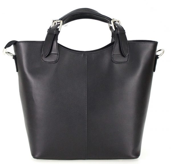 Skuldertaske i kalvelæder, lædertaske, hverdagstaske, skuldertaske, crossbody taske