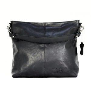 Skuldertaske italiensk læder, italiensk lædertaske, skuldertaske, crossbody taske, rummelig taske, hverdagstaske i læder, lædertaske, læder taske
