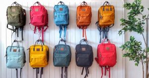 rygsæk, børnerygsæk, skoletaske, taske til børn, canvas taske,