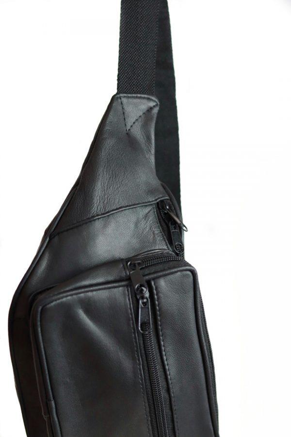bæltetaske, bumbag, læder bæltetaske, bæltetaske i læder, crossover, lædertaske, dametaske,