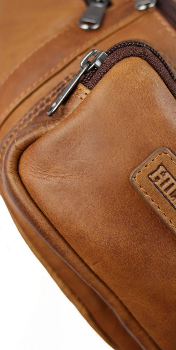 bæltetaske, bæltetaske i læder, læder bæltetaske, bumbag, crossover