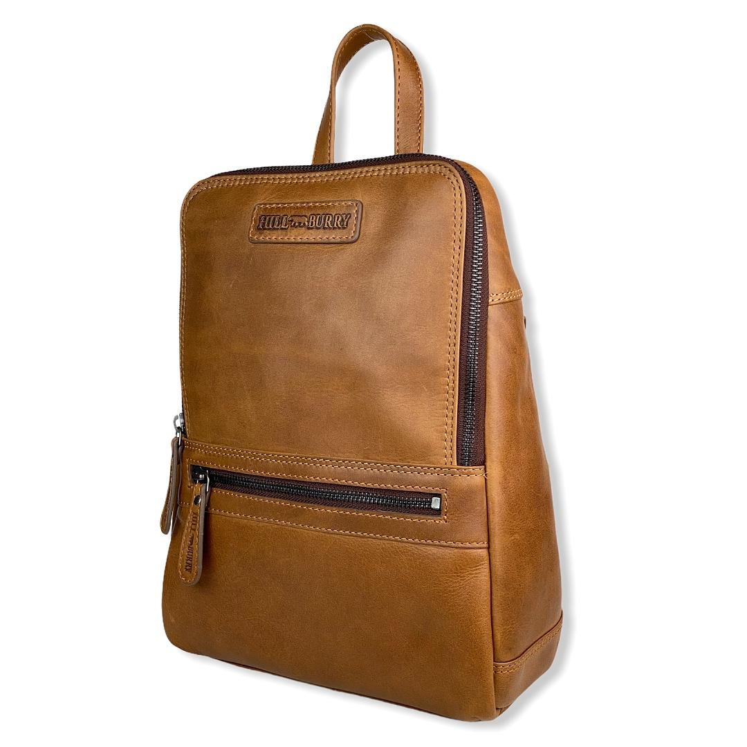 Praktisk lille rygsæk, læder rygsæk, lille rygsæk, skuldertaske, læder taske, hverdagstaske.