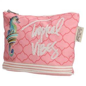 stof pung, børne pung, børne taske, make up pung, opbevaringspung, børne taske