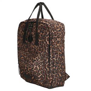 rygsæk med leopard print, leopard rygsæk, rygsæk, skoletaske