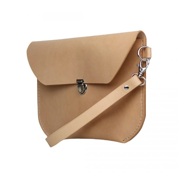 læder bumbag, bæltetaske, skuldertaske, crossbody taske, håndtaske, clutch taske, håndlavet taske, kernelæder taske.