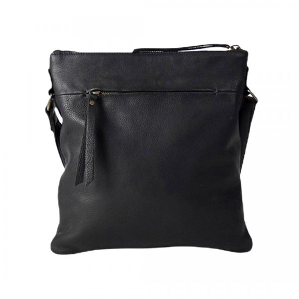 Aliya lædertaske, aliya skuldertaske, Aliya crossbody taske, lædertaske, lædertaske fra Re:Designed, Re:Designed by Dixie, hverdagstaske i blødt læder