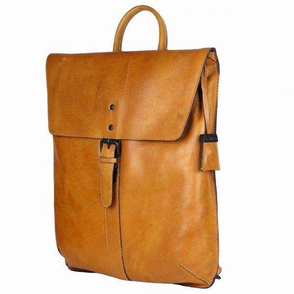 tidløs læder rygsæk, læder rygsæk, læderrugsæk, rygsæk i læder, arbejdstaske, studietaske, rejsetaske, backpack