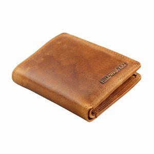 Læderpung til mænd, pung med RFID beskyttelse, hill burry, herrepung, herrepung i læder,
