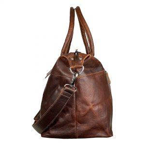 rejsetaske, rejsetaske i læder, læder taske, lædertaske, weekend taske, weekend taske i læder, italiensk læder, stor læder taske